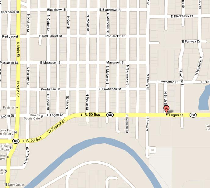 nccc ottawa local street map