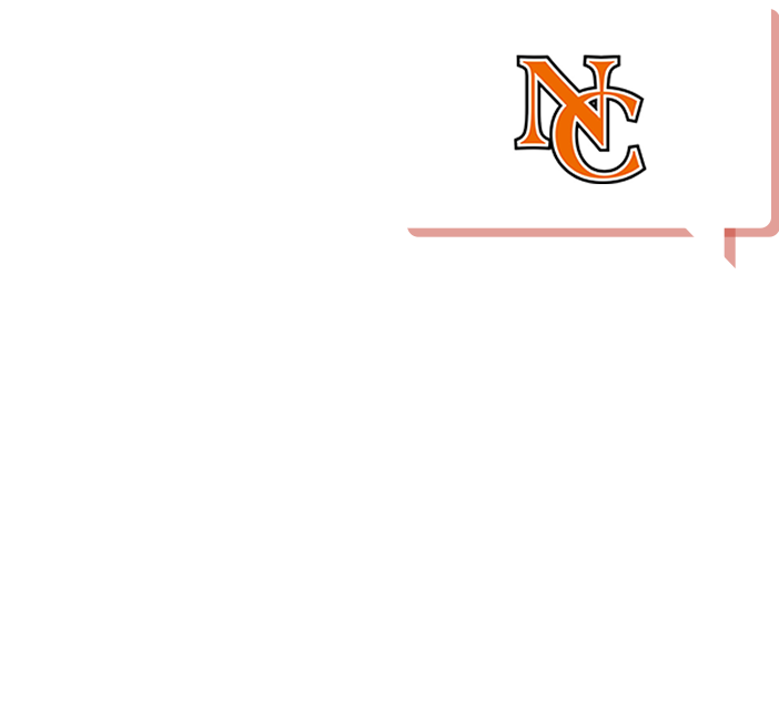 chat bubble with NC Logo